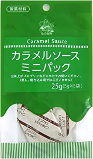 My kitchen caramel sauce mini pack (topping type) 25g ~ 6 pieces