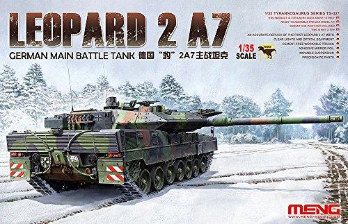 Unbekannt Meng TS de 027–Maqueta de German Main Battle Tank Leopard 2A7