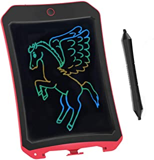 JRD&BS WINL LCD Writing Tablet forBirthday Gift,Kids Toy 8.5 Inch Colorful LCD Writing Tablet Electronic Writings Pads Drawing Board Gifts for Kids Office Blackboard - Erase Button Lock Included(Red)