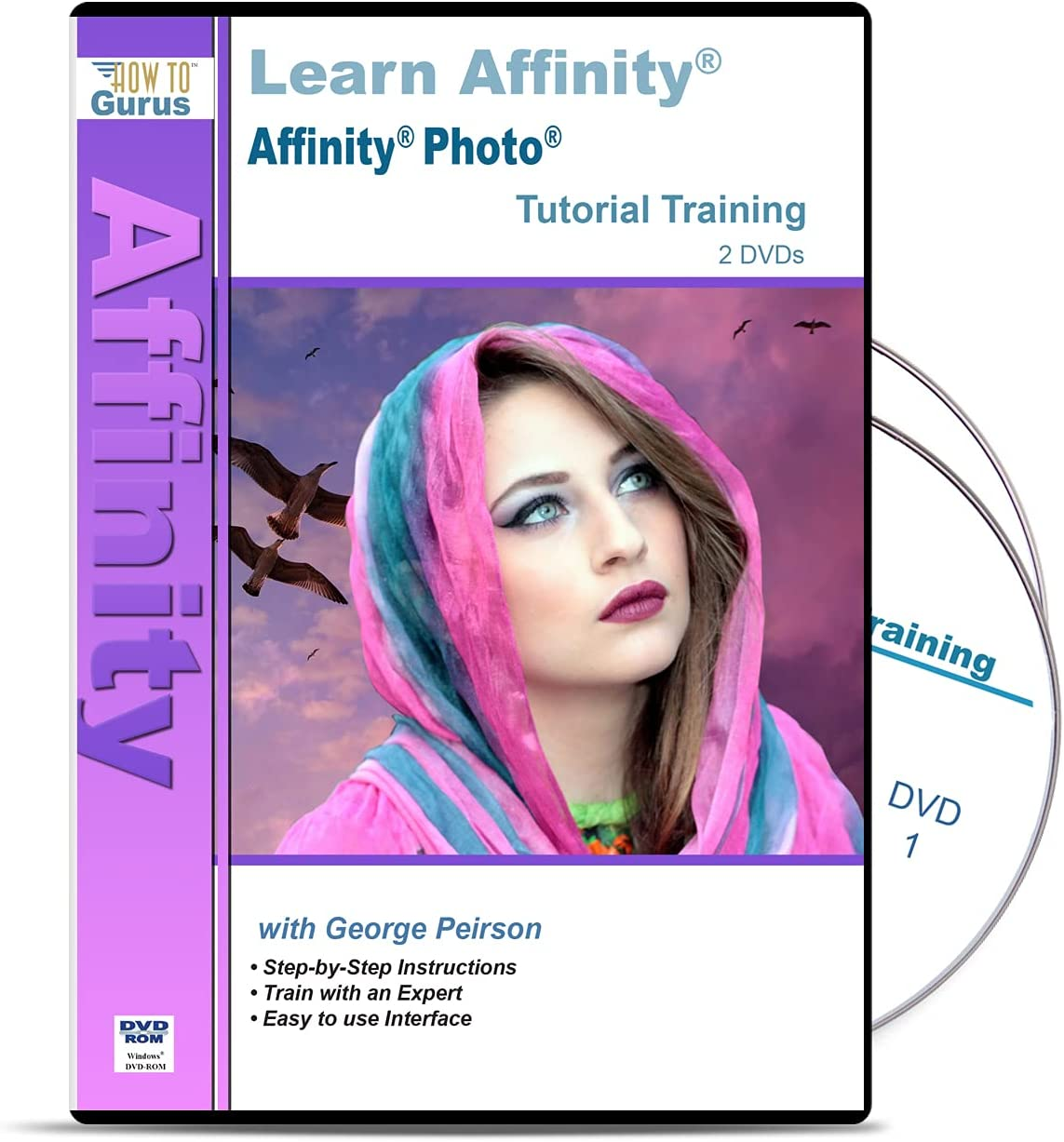 Training for Serif Affinity Photo from How 2 on To Gurus 5 Bargain San Francisco Mall sale DVDs