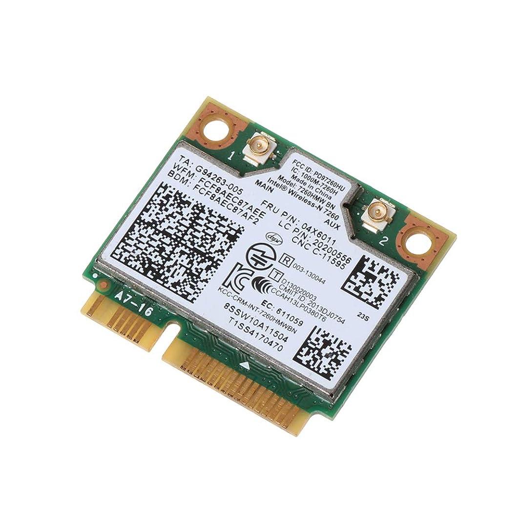 冊子申請者メロドラマBbbbaby Intelワイヤレス7260NGW Bluetooth 4.0 BN WiFi NGFF Wlanカード300M 04X6011 Thinkpad用