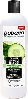 Babaria Champú Pepino Nutritivo Rizos - 400 ml