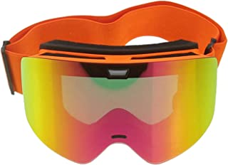Aooaz Pc Ski Snowboard Snow Goggles For Men Women Anti Fog Uv Protection Spherical Design