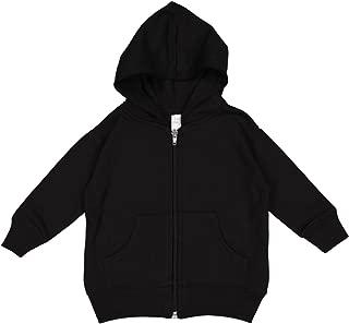 Infant Fleece Hooded Zip Front Sweatshirt with Pocket by Rabbit Skins