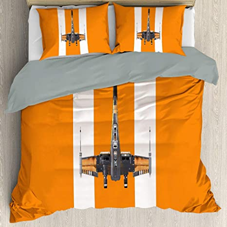 Three Piece Duvet Cover Set Quenn Size Star Wars Rise Of Skywalker Blu Ray All Season Quilt Set For Any Bed Room Or Guest Room Us Twin 172cmx218cm Home Kitchen
