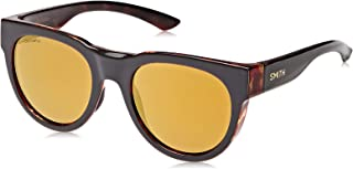 Smith Oval Sunglasses for Unisex - Gold Lens