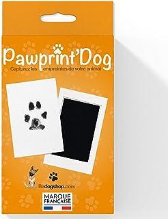 Badogshop.com Kit Empreinte Chien, Tampon Encreur Patte Chien Et Chat, Souvenir Tatouage Et Cadre (Pawprint'Dog) Grande Ta...