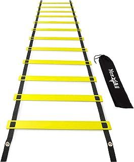 Yes4All نردبان چابک سرعت با کیف حمل - انتخاب چندگانه: 8 ، 12 ، 20 رونگ