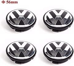 CCBaseball Set of 4 - Volkswagen Wheel Center Caps Emblem, 56mm VW Rim Hubcap Cover for VW Volkswagen Jetta Golf Beetle