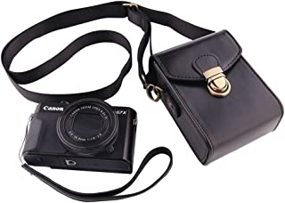 Canon Power Shot SX620HS/720HS/730SH/740SH/G7X カメラ 専用収納ケース-WERJIA (黒)