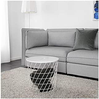 IKEA Kvistbro Storage Table White 303.494.52 Size 17 3/8