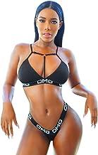 Bikini Tanga Mujer Playa Sexy BañAdores con Relleno Push Up Traje De BañO Dos Piezas Tirantes Verano