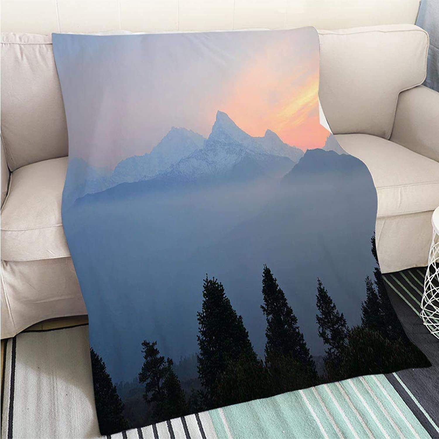 Luxury Super Soft Blanket Poon Hill View Perfect for Couch Sofa or Bed Cool Quilt