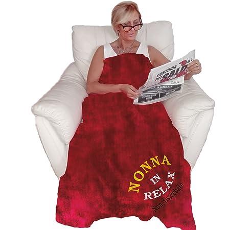 Bombo Plaid della Nonna (Rosso)