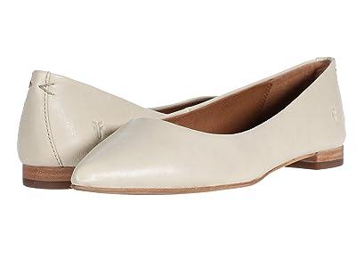Frye Sienna Ballet (Off-White Oiled Vintage) Women