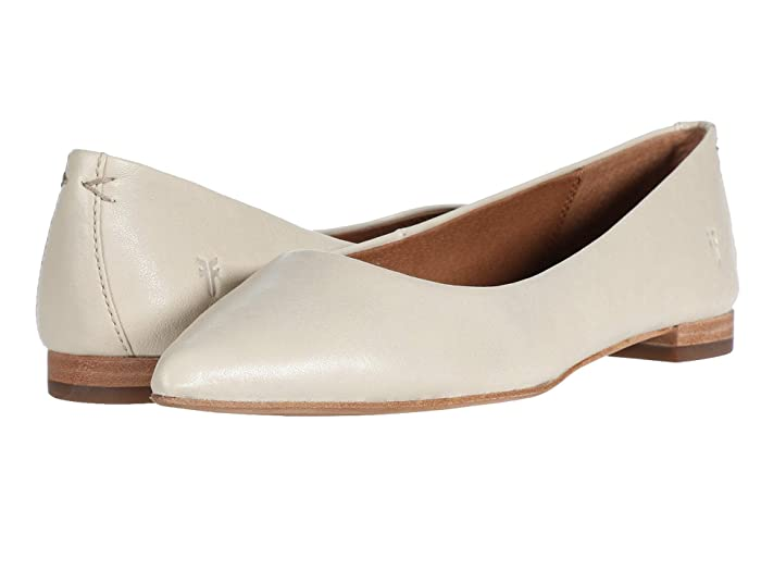 Frye  Sienna Ballet (Off-White Oiled Vintage) Womens Flat Shoes