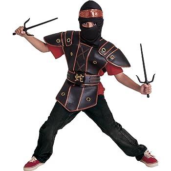 Rubies - Disfraz de ninja kid para niño, infantil L (7-8 años ...