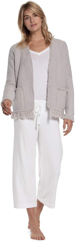 Barefoot Cheap sale Dreams CozyChic Women's Fringed Jac Jacket List price Long-Sleeve
