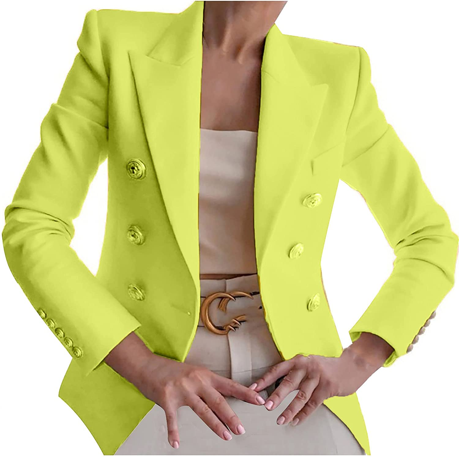 Women Blazer Max 84% OFF Ranking TOP12 for Work 2021 Fashion Coa Office Suit Lady Business