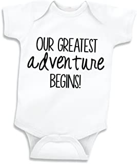 Bump and Beyond Designs Our Greatest Adventure Pregnancy Announcement to Family