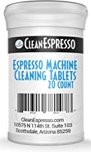 (20 Pack) Espresso Machine Cleaning Tablets - Model BR-020 - For Breville Espresso Machines.