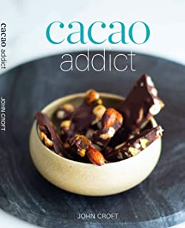Cacao Addict  a decadent healthy chocolate recipe book bursting with superfoods, food grade essential oils and organic goodness. Including thermomix instructions in every recipe.