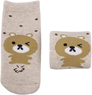 Bigood Newborn Infants Baby Kids Cartoon Animal Warm Socks Soft Sock