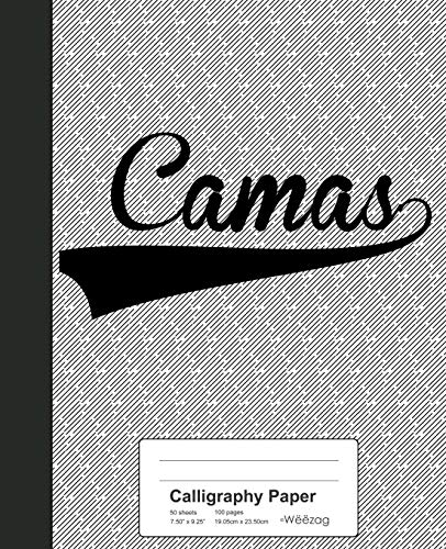 Calligraphy Paper: CAMAS Notebook: 2531