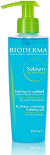 Bioderma Sebium Gel Moussant Purifying Cleansing Foaming Gel Combination To Oily Skin, 200ml