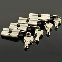 Deur vatslot Dubbele Open Lock Deur Venster Beveiliging 55 60 70 80 90 100 110 120mm Cilinder Woonkamer Lock Handgreep Aan...