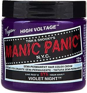 Hair Dye Manic Panic Classic Cream Violet Night Purple Free Gloves