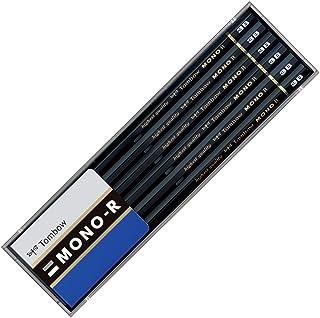 トンボ鉛筆 鉛筆 MONO モノR 3B 1ダース プラケース MONO-R3B