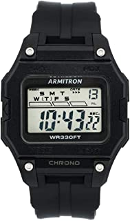 Armitron Sport Men's Digital Chronograph Resin Strap Watch, 40/8460