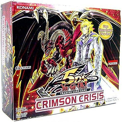 ¡envío gratis! YuGiOh CCG 5D's Crimson Crisis Booster Booster Booster Pack Box ( 24 Booster Packs ) [Toy] [Toy]  descuento online