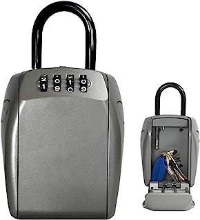 Master Lock 5414D Portable Heavy Duty Key Safe, Silver