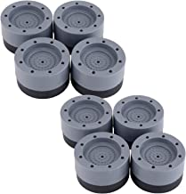 Shock and Noise Cancelling Washing Machine Support Anti Vibration Anti Slip Pads for Washing Machine & Dryer Anti-Walking ...