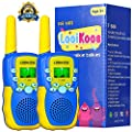 LOOIKOOS Walkie Talkies for Kids,Kids Toys 22 Channels 2 Way Radio Best Gift for Age 3-12 Boys and Girls from LOOIKOOS