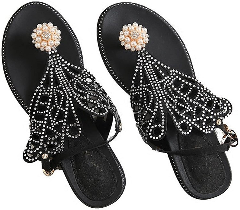 BAJIAN-LI Hohe heelsdamen Sandalen, Sandalen, Sandalen, Sommer Peep-toe Halbschuhe Damen Flip Flops Sandalen Schuhe  5559e0