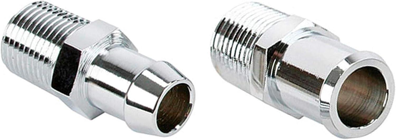 Repl. Chrome Short Heater Hose Fitting 結婚祝い Kit Inch 5 Hos 8 and 3 4 最新