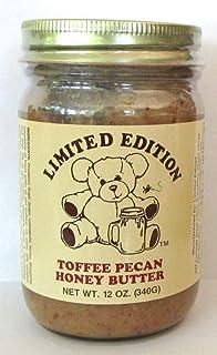 Toffee Pecan Honey Butter 12 ounce Creamed Honey Spread
