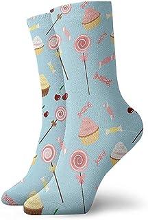 Dydan Tne, Niños Niñas Locos Divertidos Calcetines de Pastel de Caramelo Calcetines Lindos de Vestir de Novedad