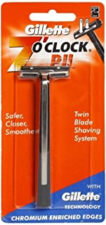Gillette 7 O Clock PII Twin Blade Shaving Safety Razor