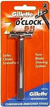 Gillette 7 O Clock PII Twin Blade Shaving Safer