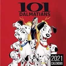 101 Dalmatians 2021 Calendar: Size 8.5x 8.5 inches