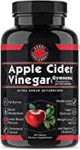 Angry Supplements Apple Cider Vinegar Pills for Weightloss - Natural Detox Remedy Includes Gymnema, Cinnamon, CLAS, and Garcinia for Complete Diet and Health - Starter Kit or Gift
