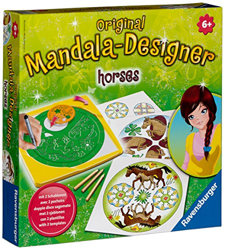 Ravensburger 29742 - Horses (Pferde) - Mandala-Designer® midi