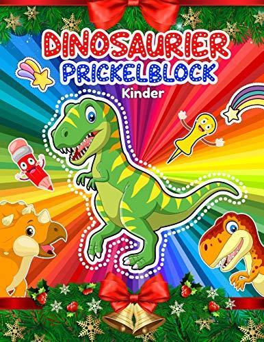 Prickelblock Dinosaurier Kinder: Prickelset Kinder Dinosaurier   Prickelbilder Set Kinder zu Prickeln Und Ausmalen Für Kinder Ab 5 - 7   Prickel-set ... Ausmalen, Prickeln Für Junge und Mädchen