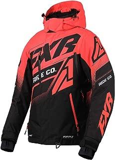 FXR Womens Boost FX Jacket 2020 (Black/Coral - Size 8)