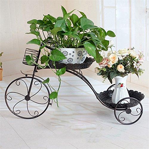 Plante Européenne Balcon Fleur Stand Fer Simple Multi-couche Vert Salon Creative Plancher Modèle Suspendus Orchid Fleur Pot Rack Accessoires (taille : 77 * 40 * 30CM)