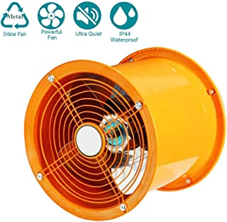 WYHDA 400 mm Duct Fan Inline Extractor Industry Turbo Mixed Flow in Line Extractor Fan, 700 W, 220V-240V, Air Volume: 5000m³/h